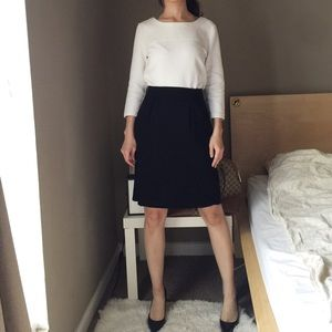 Prada Career Black Skirt.-Y5.